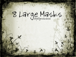 Large Masks 2 by big-rock-show