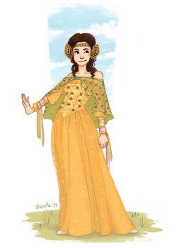 star wars - padme's picnic dress by shorelle