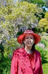 Wisteria Shaded Portrait Of Mrs a* In Heathfield by aegiandyad