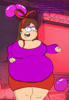 Fat Party Mabel by SinkCandyCentral