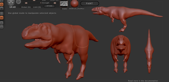 Giga W.I.P model by The---Other---One