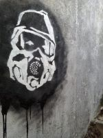 Metro Last Light Stencil by Stalkiev