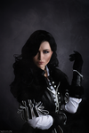 The Witcher - Yennefer by MilliganVick