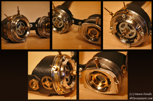 Steampunk Goggles by Crimson-Fatalis