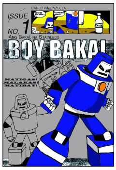 Boy Bakal issue 1 cover by Olracdude