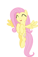 Cute Fluttershy by Proenix