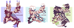 [CLOSED] Lepitsune Batch #10- AUCTION by jaywalkings