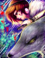 Princess Mononoke: Strike. by Sukesha-Ray