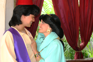 Aladdin and Jasmine 09 by DisneyLizzi
