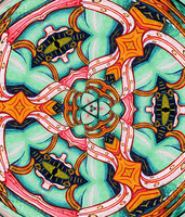 Third Eye Mandala by crypticfragments
