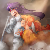 Namtash- The Princess And Her Knight by Sogequeen2550