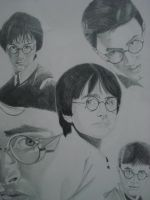 harry potter by ARTIEFISHEL79