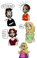 Degrassi doodles by cozmictwinkie