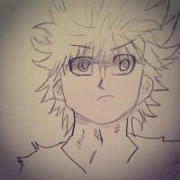 killua by Dazeinnight