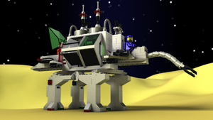 LEGO Alien Moon Stalker by zpaolo