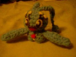 Crochet Manaphy by Tanere