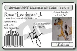 My ID by Leadmare