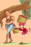 Applesisters by SunnyQ