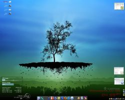 My desktop - 12 July, 2006 by happycooldude