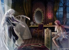 comm Elly3981: Abel and Esther: Queen's room by la-sera