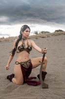 Slave Leia Cosplay by caroangulito