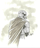 Inktober - Captain Phasma by rymslm