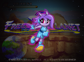 Freedom Planet Fan Art- Lilac by GamefreakDX