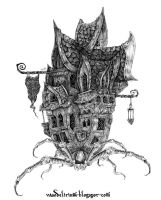 eight legged castle by vasodelirium