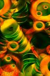 Colorful Collage of Bowls by Holly6669666