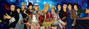 The 11 Doctors by CosmicThunder