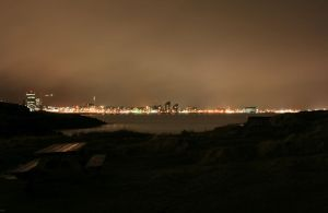 Reykjavik at Night by Indiliel