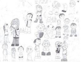 Doodle Page by Lolipop01