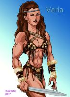 Varia the Amazon by Dracowhip