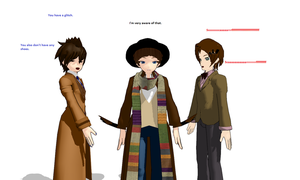 4th Doctor WIP by AskTheDoctorxFemEng