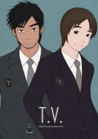 T.V. guys by cocon
