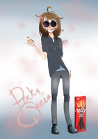Pocky Queen by Dande-Leo