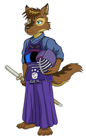 Gen is ready for some kendo by WolfKendo