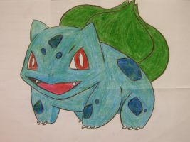 Bulbasaur (Contest Entry) by jerzyna-chan
