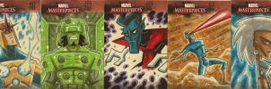 Marvel Masterpieces II APs 1 by OtisFrampton