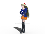 Minako's Winter Outfit by Mikey186