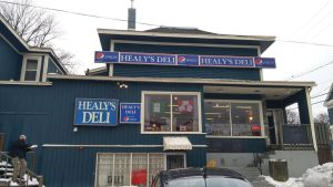 Healy's Deli for Browning Harvey Ltd. by chrisddixon
