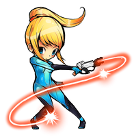 ZERO SUIT SAMUS by Kei-yo