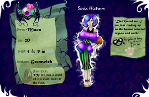 Hiems Mansion Application: Saria Histrum by SereanaDaisyBuns