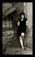 pin up umbrella by blooding