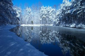 Winter Reflections by dreamweaver69stock