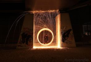 first experiments with steel wool 1 by MT-Photografien