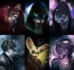 Anthro Cbusts by Kharnage