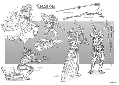 CHARON - Character Design by IrisHopp
