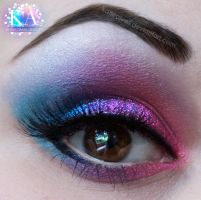 Pink and Blue by KatieAlves
