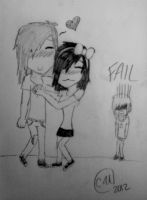 Forest n Cyd ... Blake fails! by CydneyJones